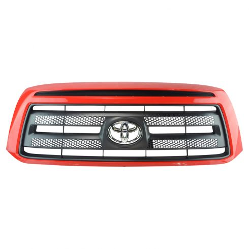10-13 Toyota Tundra Rock Warrior (Painted Radiant Red: 3L5) Grille w/Toyota Emblem (Toyota)