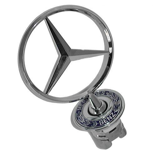 94-07 MB C-Class; 98-03 CLK-Class; 86-09 E-Class; 00-06 S-Class Hood Ornament (Mercedes Benz)