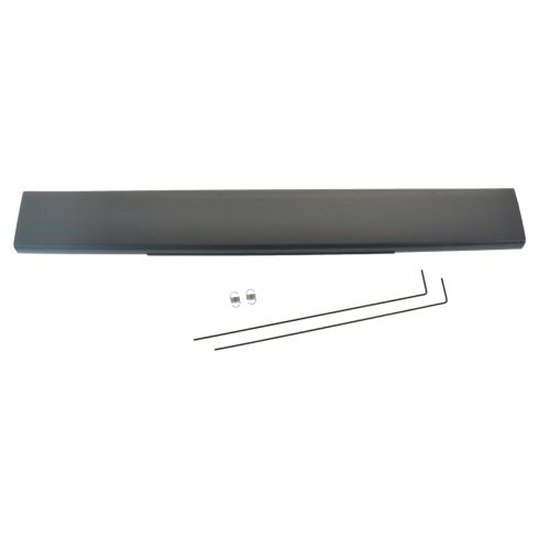 10-15 Ford F250SD-F350SD Tailgate Mounted Black Flex Step Moulding (Ford)