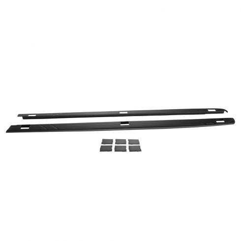 07-13 Silverado 1500; 07-14 2500; 07-13 3500 SRW (w/8 Ft Box) Adhesive Upr Bed Side Rail Mld PR (GM)