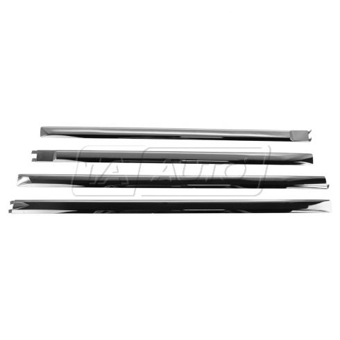 09-15 Ram 1500; 10-15 2500, 3500 Crew or Mega Cab Chrome Door Adhesive Molding (Set of 4) (Mopar)