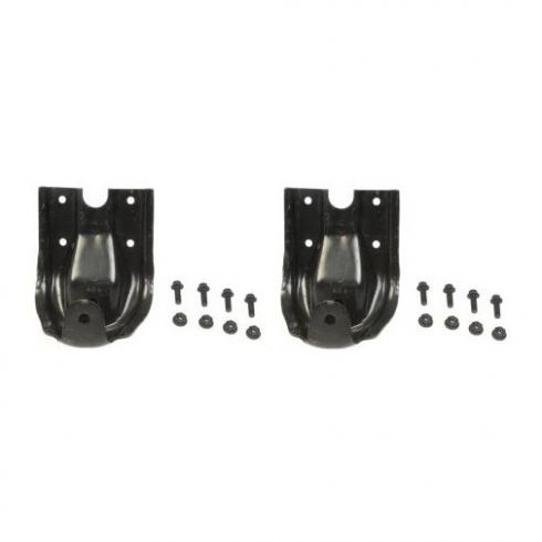 88-97 Chevy GMC Truck RWD Rear Leaf Spring Shackle Bracket Kit PAIR