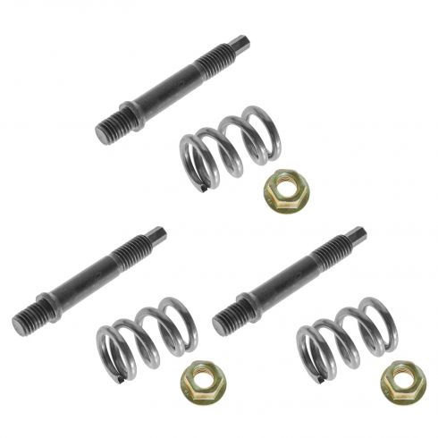 1988-96 Exhaust Manifold to Front Pipe Manifold Stud and Spring Kit (SET of 3)
