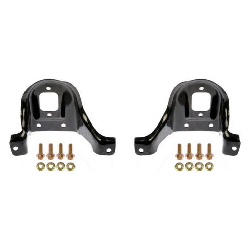 88-99 GM C1500; 88-00 C2500; 92-00 C3500 Rear Upper Shock Mount Bracket PAIR