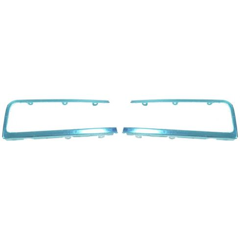 1995-97 Lincoln Towncar Chrome Headlight Trim/Bezel PAIR