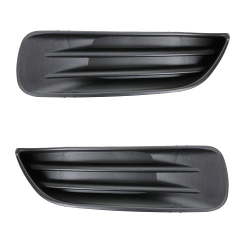03-04 Toyota Corolla (w/o Fog Lights) Fog Light Cover / Insert PAIR