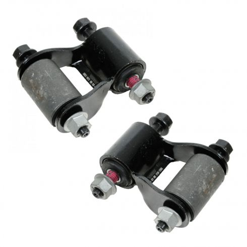 84-01 Jeep Cherokee Rear Leaf Spring Shackle Kit PAIR