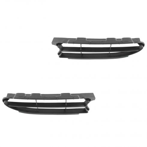 98-00 Toyota Corolla Grille Insert Black Pair