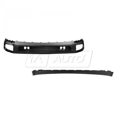 Front Bumper Lower Valance Air Deflector & Extension Kit  for Chevy Silverado 1500