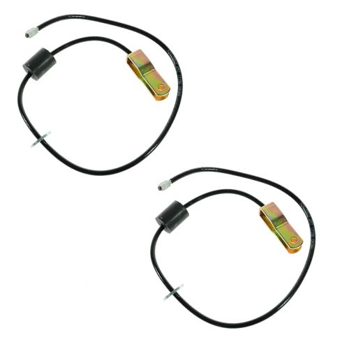 90-03 Mack RD Hood Stay Cable PAIR