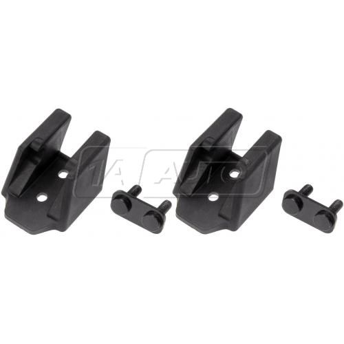 07-13 Jeep Wrangler Hood Catch Bracket Repair Kit Pair (Dorman)
