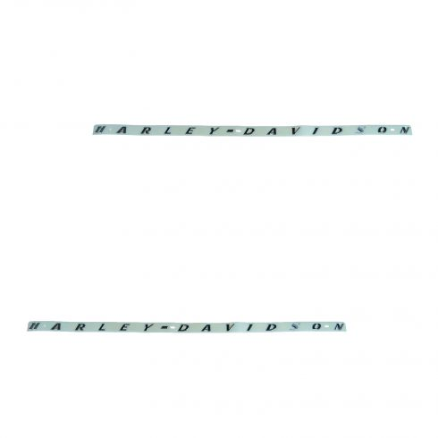 07-08 F150; 08-10 F250SD Chrome Adhesive Bed Letter Set