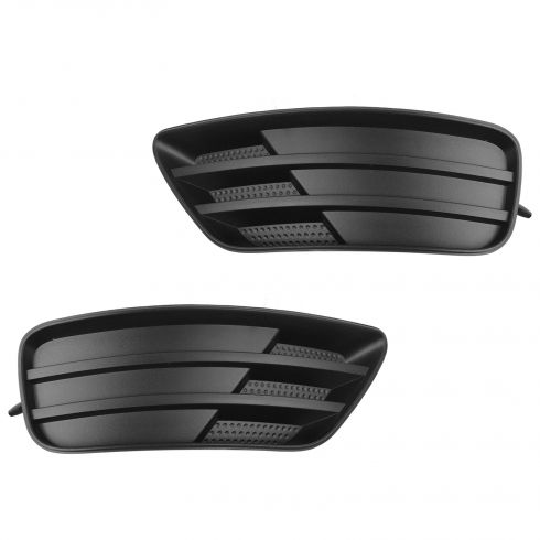 05-07 Ford Focus (w/o Fog Lights) Frnt Bmper Mntd Driving Fog Light Bumper Hole Cover Pair ( Ford)