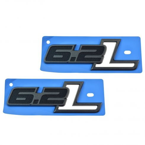 10-14 Ford F150 SVT Raptor Front Door Mounted ~6.2L~ Logoed Adh Nameplate Emblem PAIR(Ford)