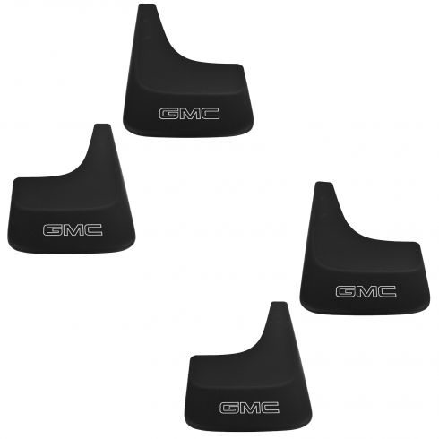 01-13 Sierra Pickup; 14 2500, 3500 (ex DRW); 01-14 Yukon, XL Contour Mud Flap (Set of 4) (GM)