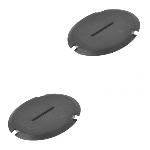 97-04 Chevy Corvette C5 Plastic Molded Headlight Motor Access Cap Plug Pair (GM)