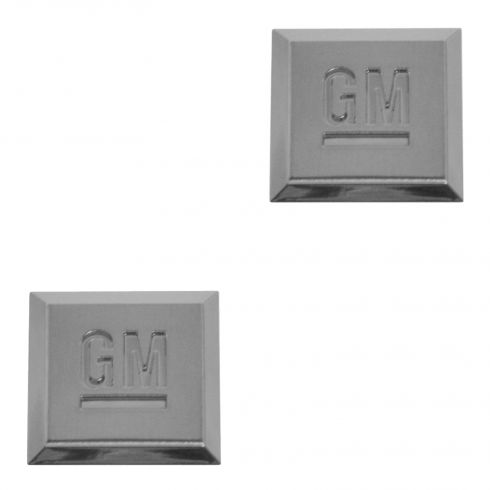06-10 Hummer; 04-15 GM Multifit Multi Location Chm GM Mark Of Excellence (1 Inch) Adh Emblm PAIR(GM)