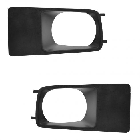 05-07 Dodge Magnum (exc SRT8) Front Bumper Mounted Driving/Fog Light Bezel Pair (Mopar)