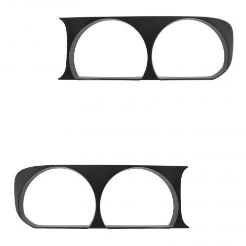 08-14 Dodge Challenger Black Headlight Bezel Pair (Mopar)