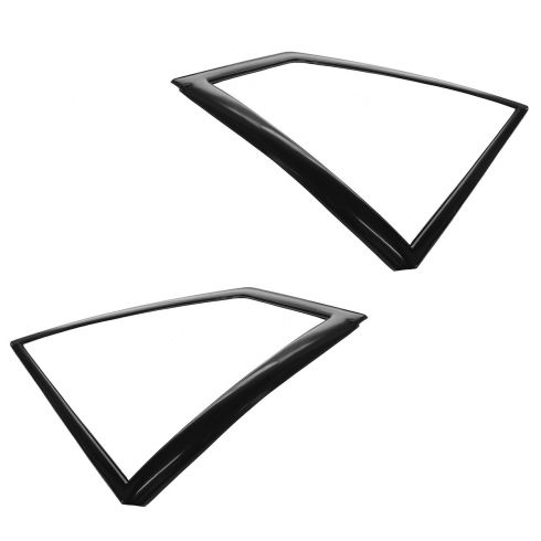 87-93 Ford Mustang Quarter Window Trim Moulding Pair
