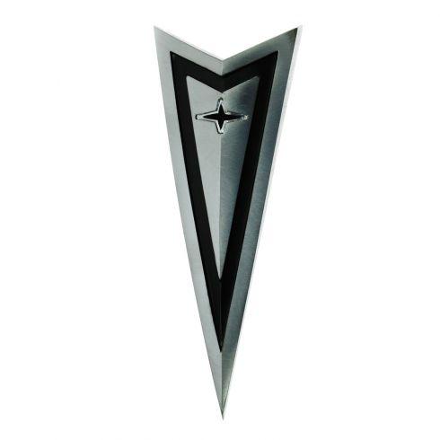 1966-67 Pontiac Lemans, GTO, Tempest Arrowhead Hood Emblem