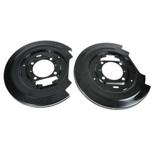 97-02 Ford Expedition; 99-04 F150; 97-99 F250LD; 98-02 Navigator Rear Disc Brake Dust Shield PAIR