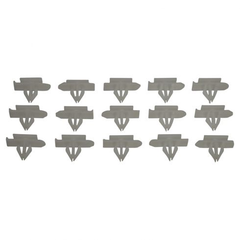 08-10 Chevy Malibu Hybrid; 08-12 Malibu Nylon Rocker Moulding Retainer Clip (Box of 15)