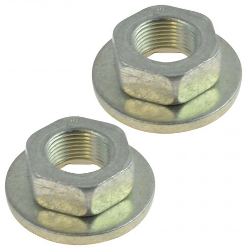 00-11 Ford Focus (20 X 1.5 MM) Rear Spindle Caged Retainer Nut Pair(Ford)