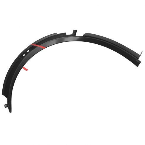 2015 Chevy Corvette Molded Black Plastic Front Wheel Opening Molding LF (GM)
