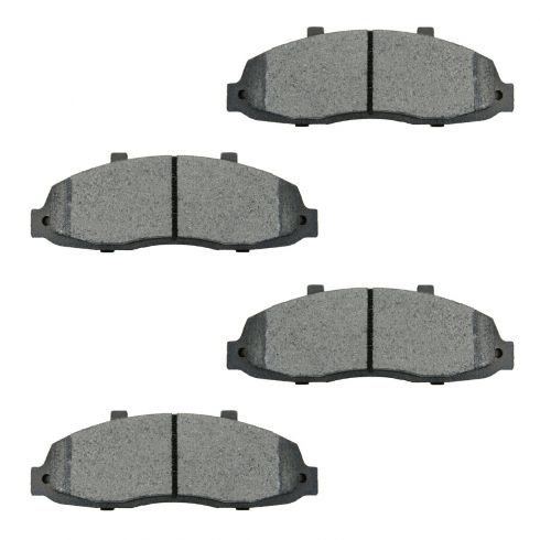 1997-03 Ford F150 F250 4x4 Blackwood Brake Pads Front