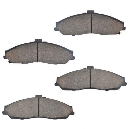 1997-04 Chevy Corvette Brake Pads Front Ceramic