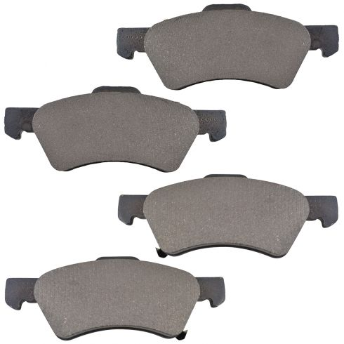 2001-07 Town & Country Voyager Caravan Brake Pads Front with rear disc