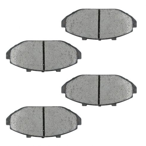 98-02 Crown Victoria Grand Marquis Town Car Brake Semi-Metallic Pads Front