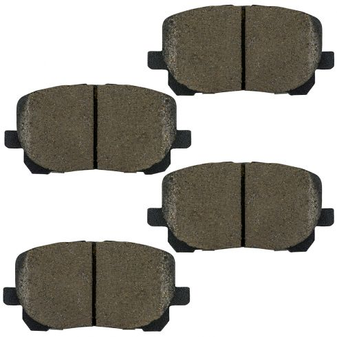 Ceramic Disc Brake Pads (AUTO EXTRA AXCD923)