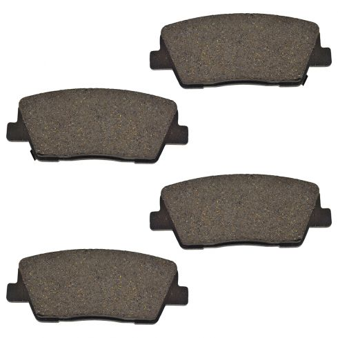 Ceramic Disc Brake Pads (AUTO EXTRA AXCD1284)