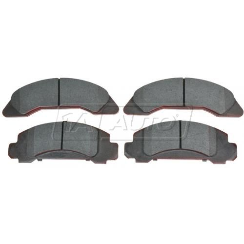 Front Ceramic Disc Brake Pads (AUTO EXTRA AXCD326)