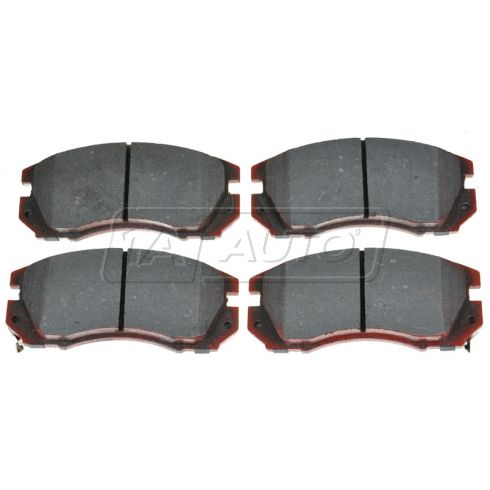 Front Ceramic Disc Brake Pads (AUTO EXTRA AXCD563)