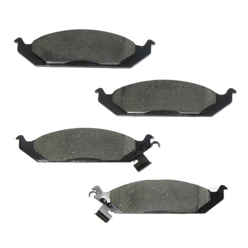 Front Ceramic Disc Brake Pads (AUTO EXTRA AXCD650)