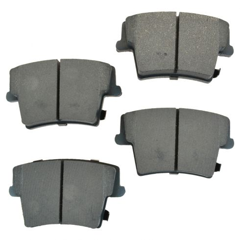 Rear Semi-Metallic Disc Brake Pads (Auto Extra AXMD1057)