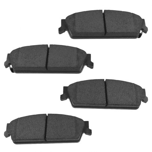 Rear Ceramic Disc Brake Pads (Auto Extra AXCD1194)