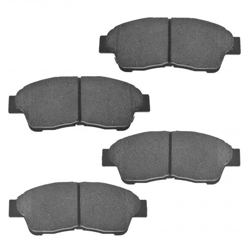 Front Ceramic Disc Brake Pads (Auto Extra AXCD562)