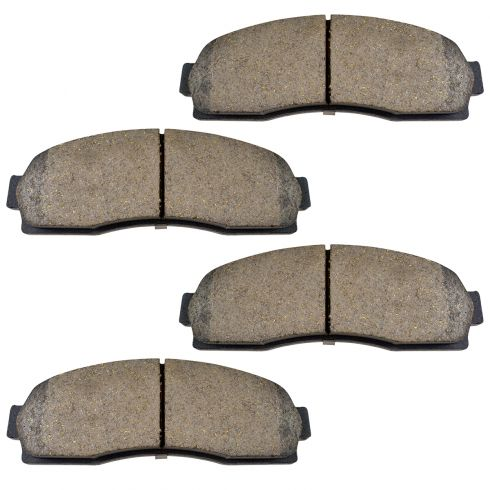 Ford Mercury Front Premium Posi Ceramic Disc Brake Pads (833)