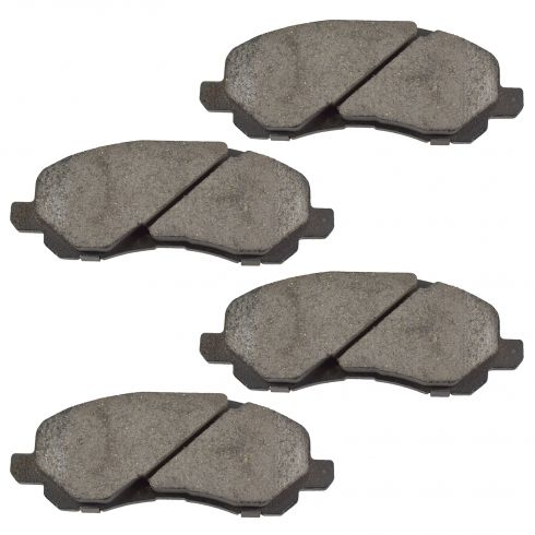 Front Ceramic Disc Brake Pads (Auto Extra AXCD866)