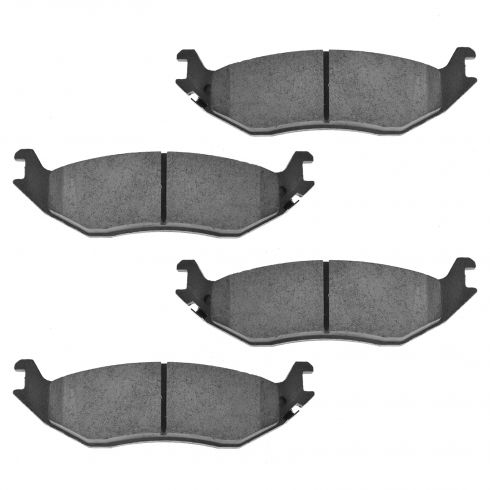 Rear Ceramic Disc Brake Pads (Auto Extra AXCD898)