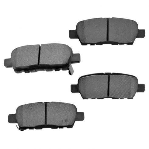 Rear Semi-Metallic Disc Brake Pads (Auto Extra AXMD905)