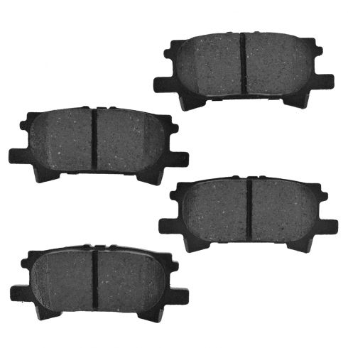 Rear Semi-Metallic Disc Brake Pads (Auto Extra AXMD996)
