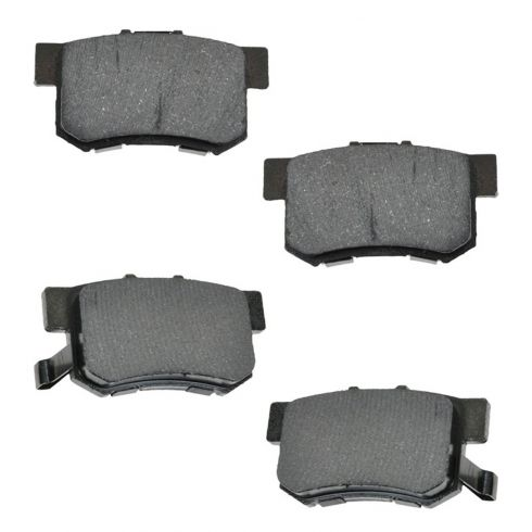 Rear Disc Brake Pads - Semi-Metallic (MD536)