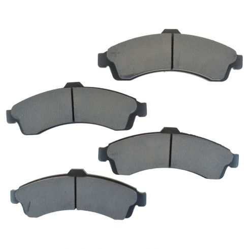 Front Semi-Metallic Disc Brake Pads (MD882)