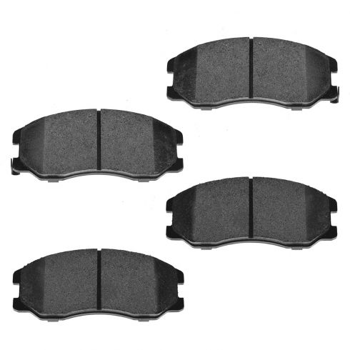 Front Semi-Metallic Disc Brake Pads (MD1264)