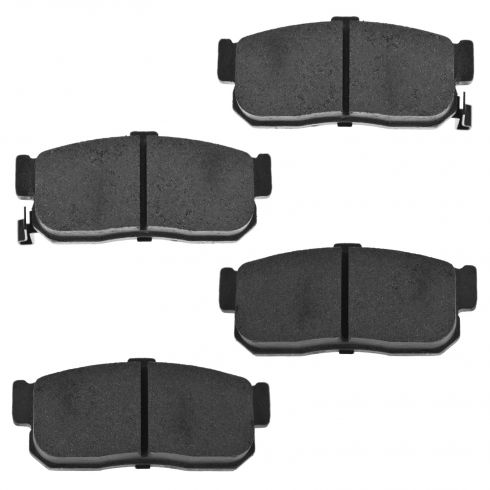 Rear Semi-Metallic Disc Brake Pads (MD540)